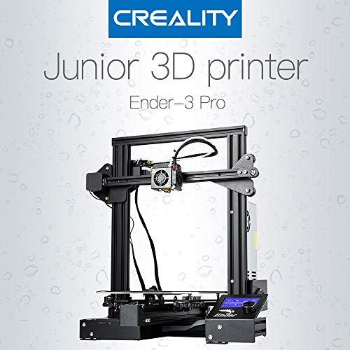 Creality 3D Ender-3 Pro 3D Imprimante magnétique améliorée Carte de synthèse Résumé d'erreurs d'alimentation de l'imprimante Kit DIY Alimentation moyenne