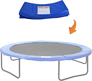 Blue 6feet//8feet Long Lasting Trampoline Edge Cover For Round Frames Trampoline Replacement Safety Pad Spring Cover Universal Replacement Trampoline Surround Pad