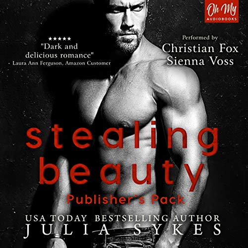 Stealing Beauty: Publisher's Pack                   By:                                                                                                                                 Julia Sykes                               Narrated by:                                                                                                                                 Christian Fox,                                                                                        Sienna Voss                      Length: 7 hrs and 50 mins     5 ratings     Overall 5.0