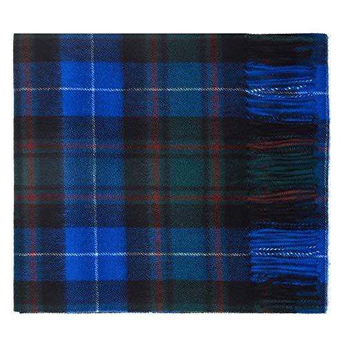 Oxfords Cashmere Reine Schurwolle Luxury Tartan Schal (Macrae)
