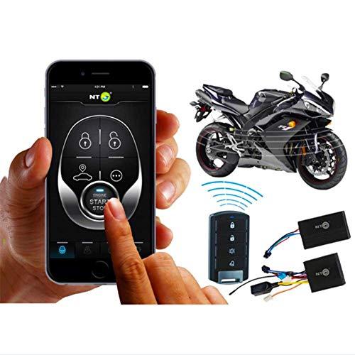 HONGLONG Inseguitore di Biciclette, GPS Tracker, Non c'è Bisogno di Carica, Impermeabile, per Biciclette E Moto con Le Applicazioni Android E iOS GPS Sistema di Allarme Inseguitore