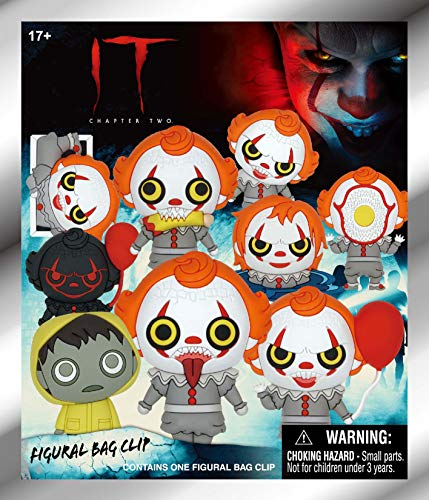 Warner Bros. It Chapter 2 - Pennywise - 3D Foam Bag Clip in Blind Bag - http://coolthings.us