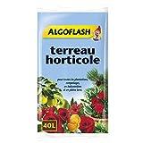 Terreau horticole Algoflash 40 litres