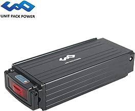 Hot Sale! 48V 30AH E-Bike Lithium ion Rack Battery fits 48V 1000W E-Bike Motor/Electric Mountain Bike (48V 30AH, Sliver)