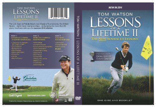 Tom Watson Lessons of a Lifetime II - One Disc and Booklet (2014)
