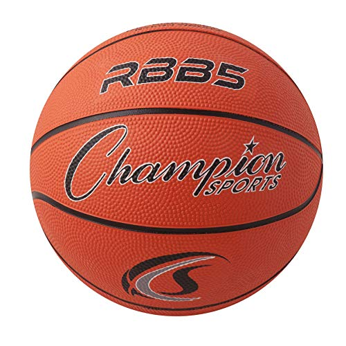 Read About Champion Sports Mini Rubber Basketball, Size 3, Orange, Pack of 3