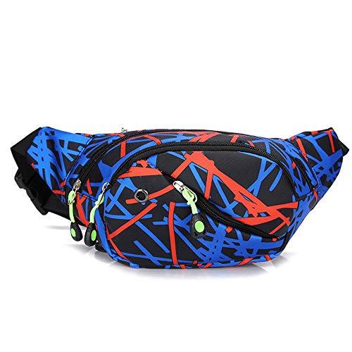 Bolso de la correa ajustable con cinturón elástico Pretina de la corriente de la bolsa de la cinta andadora paquetes de Fanny for las mujeres de los hombres reflectante paquete de la cintura de la cor