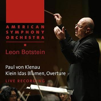 Klenau: Klein Idas Blumen - Overture