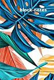 Block-notes: Quaderno per appunti copertina floreale colorata morbida