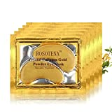 New Crystal 24K Gold Powder Gel Collagen Eye Mask Sheet Patch, Under Eye Patches For Puffy Eyes 24k Gold Eye Mask For Dark Circles And Puffiness Collagen Eye Gel Pads -15 Pairs