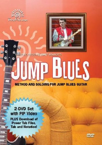 Jump Blues - Matthieu Brandt / Method And Soloing For Jump Blues Guitar [2 DVDs]