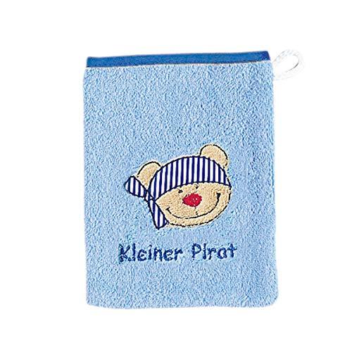 Wörner Gant de toilette gant de toilette bébé, bleu ciel