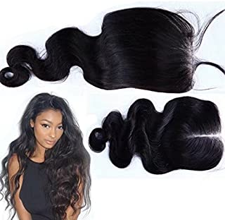 Unprocessed Peruvian Loose Body Wave Lace Closure 4x4 Virgin Human Hair 3/Three Part Cheap Swiss Lace Closures Bleached Knots 12