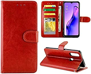 Phone case For OPPO A31/A8 Crazy Horse Texture Leather Horizontal Flip Protective Case with Holder & Card Slots & Wallet &...