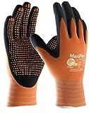 MaxiFlex Endurance 34–848Nitril Schaumstoff Micro Dot Palm Arbeitshandschuhe, Größe 9/L