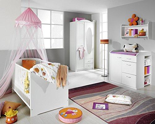Rauch Babyzimmer Lilly 5-tlg. Komplett Set in weiss
