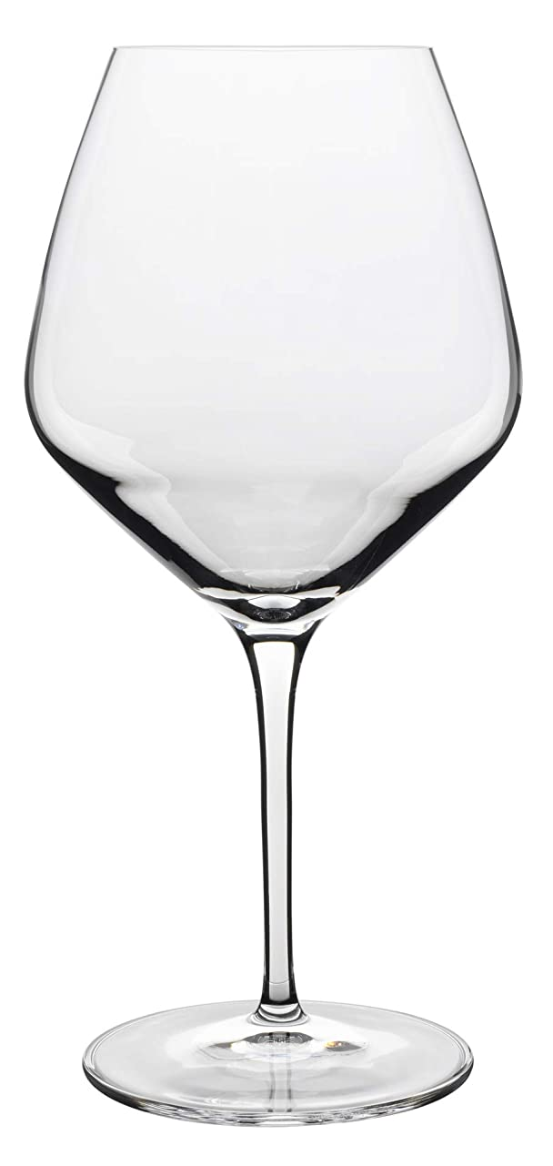 面積寛容な請うLuigi Bormioli Prestige Burgunder Glass (Set of 4), 610ml, Clear