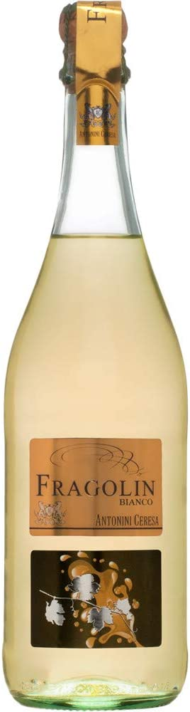 Fragolin Rosso Antonini Ceresa Vino blanco aromático italiano de fresa (1 botella 75 cl.)