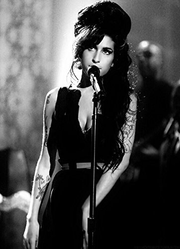 Mark Rocks Amy Winehouse Poster 17 inch x 13 inch