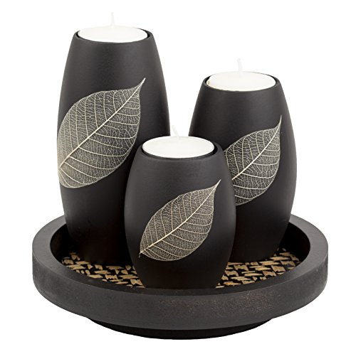 IYARA CRAFT Tealight Candle Holders Set of 3