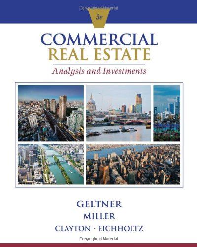 Real Estate Investing Books! - Commercial Real Estate Analysis and Investments (w/ CD)
