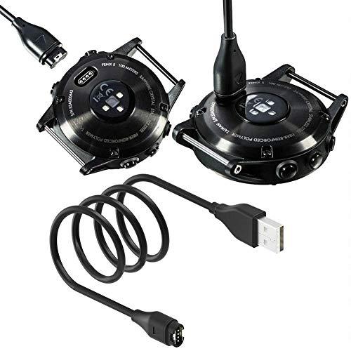 ningxiao586 Chargeur 3,3ft USB Câble de données de Charge Rapide Compatible pour Garmin Fenix 6 6S 6X Pro Fenix 5 5S 5X Forerunner 945 935 245 Vivoactive 3 Vivosport
