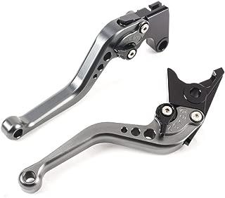 MZS Short Levers Brake Clutch Adjustment CNC for Yamaha YZF R1 2002-2003// YZF R6 1999-2004// FZ1 Fazer FZS1000 FZS1 2001-2005// R6S USA Version 2006-2009// R6S Canada 2007-2009// YZF600R 1997-2007 Gold