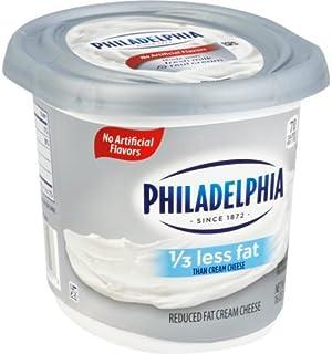 Philadelphia Reduced Fat Cream Cheese Spread, 1 Pound -- 6 per case.