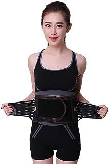 腰椎 スポーツウエストサポート、腰ブレースの痛みの軽減、腰痛の緩和のための腰部サポートベルト、坐骨神経痛、脊柱管狭窄症、脊柱側弯症または椎間板ヘルニア 弾性