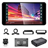 Portkeys PT5 Camera Field Monitor 5 Inch Full-Fit Screen 3D Lut 1920x1080 IPS Peaking Focus Video Assist 4K HDMI Input Output Lightweight High Screen Ratio Portable Camera Monitor