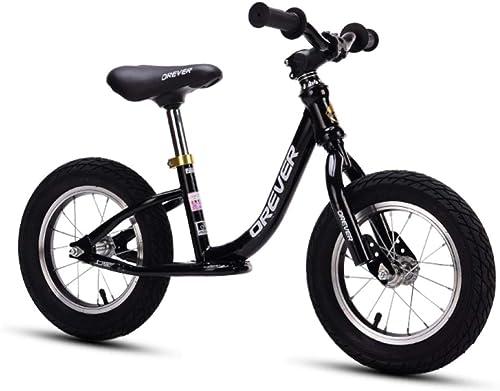 CHRISTMAD équilibre De Vélo Enfants Glissez Vélo Guidon Réglable Et Hauteur du Siège Adapté pour 2-6 Ans Enfants DivertisseHommest Fitness en Plein Air Sport,C