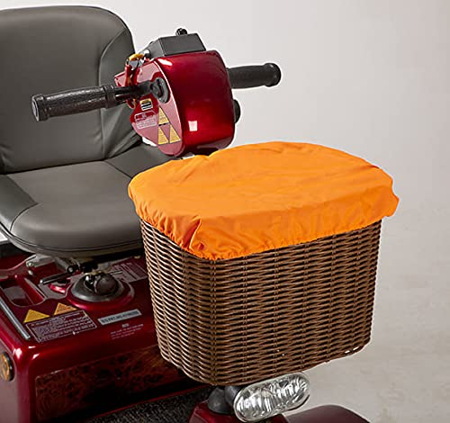 Waterproof Bag/Liner and Cover for a Mobility Scooter Front Basket