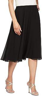 Women's Midi Length Chiffon Skirt