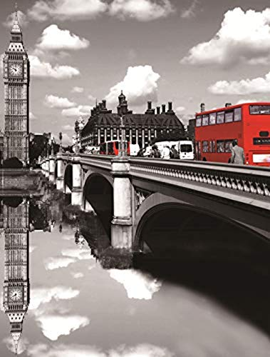 Puzzle Erwachsene Kreatives Spiel DIY London Bridge 1000 Stücke 70x50cm 3d Kinder Puzzle Spiel Puzzle