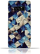Samsung Galaxy Note 8 TPU Silicone Case With Digital Art Abstract Pattern