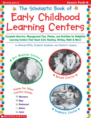 The Scholastic Book of Early Childhood Learning Centers (English Edition)