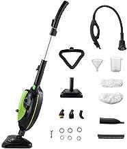 Moolan Steam Mop, Hard Wood Floor Steamer, Handheld Cleaner, Multi-Purpose, Carpet/Tiles/Vinyl/Laminate/Grout Cleaning Mac...