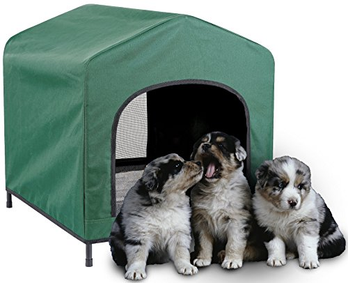 Etna Waterproof Pet Retreat Portable Dog House