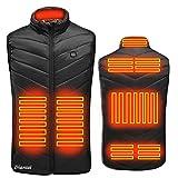 Borstu Gilet riscaldato Inverno USB Gilet riscaldante Elettrico Giacca Termica Calda Uomo Donna Scaldino per Campeggio Esterno Escursionismo Caccia