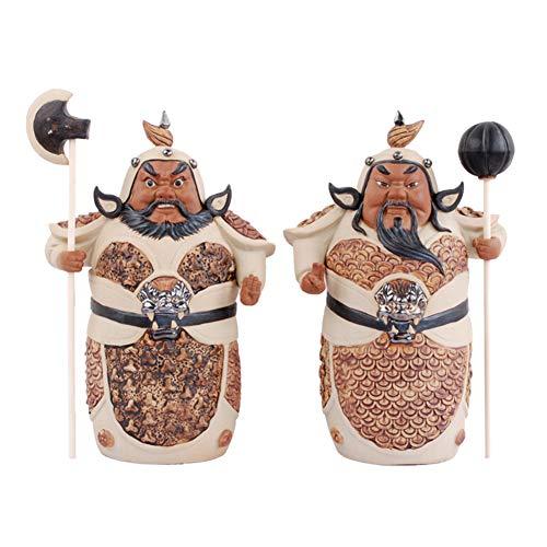 GGYDD Keramikbeschichtung Heimtextilien-Handwerk,skulptur Decor Tafelaufsatz Home Dekoration Büro Ornament Kommode Wurzelholz-a