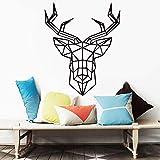 Kreative Tier Muster wandaufkleber für kinderzimmer Dekoration Vinyl abnehmbare wandtattoo wasserdichte Dekoration 104x127 cm