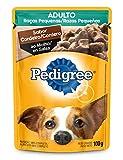 Ração Úmida Pedigree Sachê Cordeiro ao Molho para Cães Adultos de Raças Pequenas 100g
