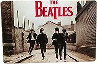 アメリカ雑貨 ブリキ看板 屋内用 ヴィンテージ風 レトロ風 雑貨 The Beatles ビートルズ インテリア 壁飾り おしゃれ