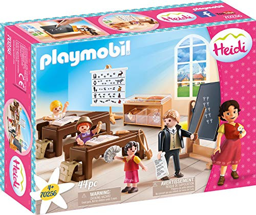 PLAYMOBIL 70256 Heidi School Lessons in Dorfli
