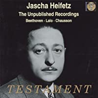 Unpublished Recordings Jascha Heifetz