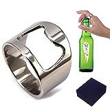 Flaschenöffner-Ring für Männer / Frauen, praktisch, Titan 7 -
