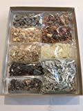Resin Incense Variety Sampler Includes: 1/2 Ounce Benzoin, Frankincense, Gold Copal, Myrrh, Sweet...