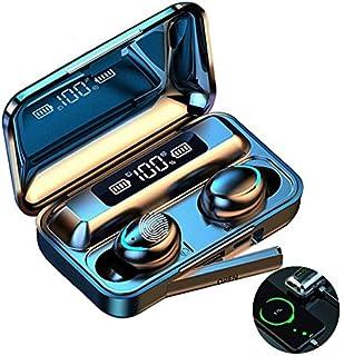 Audífonos Bluetooth Inalámbricos , Auriculares Deportivos con Control Táctil y LED Pantalla, Estuche de Carga 2000mAh, Mic...