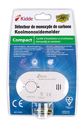Kidde KID9000233 - Détecteur De Monoxyde De Carbone Écran Digital 900-0230