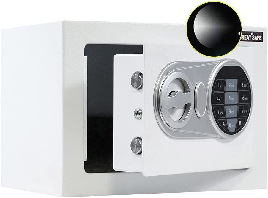 JUGREAT Safe Challenge the lowest price of Japan ☆ Box with Sensor Sa overseas Electronic Securit Digital Light